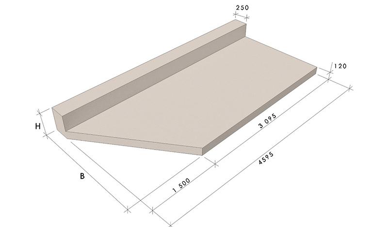 Балконные плиты (пбк, бп, пб, пл).