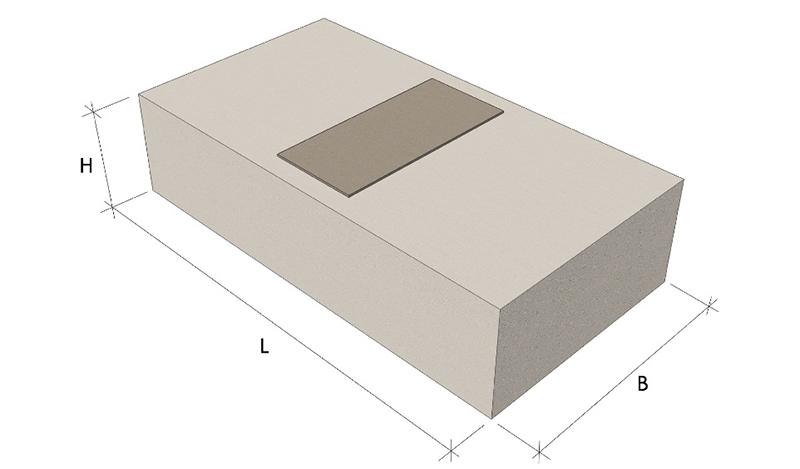 Опорные жб подушки серия 1 869 1 1